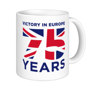 V E Day Mugs - 75 Years