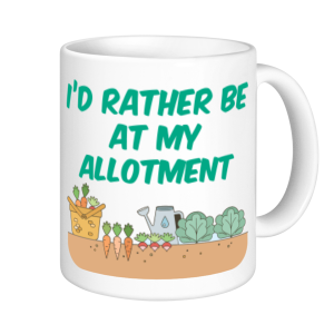 Allotment Mugs - I'd Rather Be At My Allotment (veg)