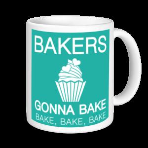 Baking Mugs - Bakers Gonna Bake