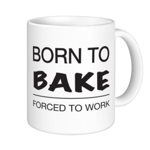Baking Mugs - Born To Bake