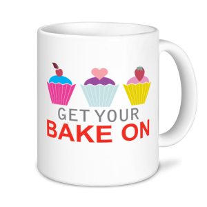 Baking Mugs - Get Your Bake On