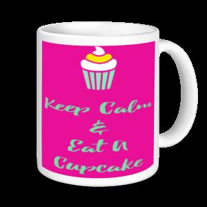 Baking Mugs - Keep Calm And Eat Cupcakes