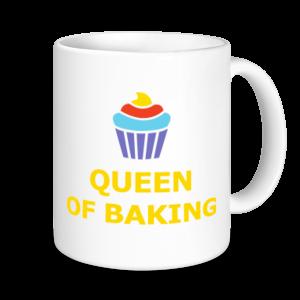 Baking Mugs - Queen Of Baking