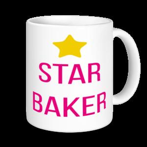 Baking Mugs - Star Baker