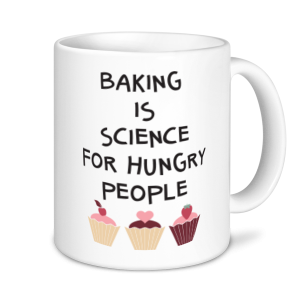 Baking Mugs - Baking Is A Science For Hungry People 2