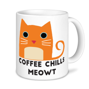 Cat Mugs - Coffee Chills Meowt