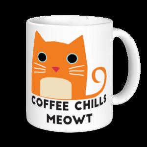Cat Mugs - Coffee Chills Meowt