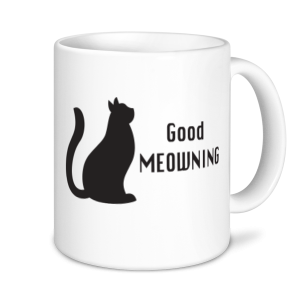 Cat Mugs - Good Meowning