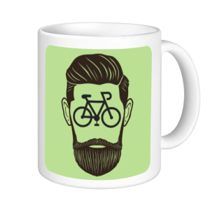 Cycling Mugs - Cycling Beard