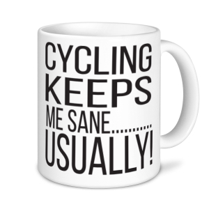 Cycling Mugs - Cycling Keeps Me Sane