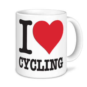 Cycling Mugs - I Love Cycling