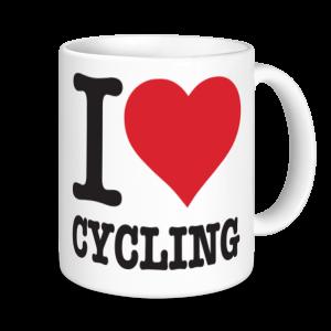 Cycling Mugs - I Love Cycling
