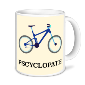 Cycling Mugs - Psyclopath