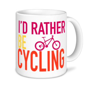 Cycling Mugs - I'd Rather Be Cycling