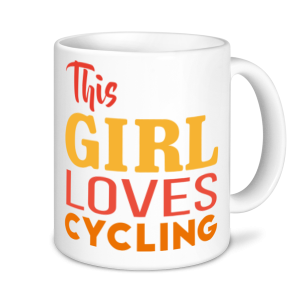 Cycling Mugs - This Girl Loves Cycling
