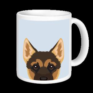 Dog Mugs - German Shepherd