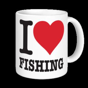Fishing Mugs - I Love Fishing