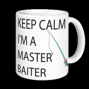 Fishing Mugs - Keep Calm I'm a Master Baiter
