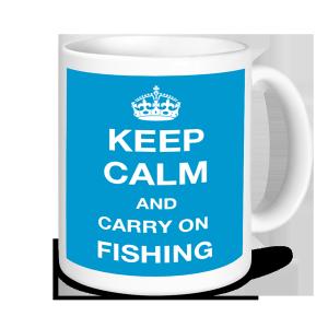 Fishing Mugs- Keep Calm and Carry On Fishing