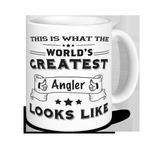 Angling Mugs - World's Greatest Angler