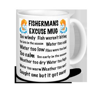 Fishing Mugs - Fisherman's Excuse Mug