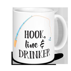 Fishing Mugs - Hook Line and Drinker