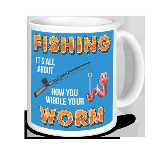 Fishing Mugs - Wiggle your Worm