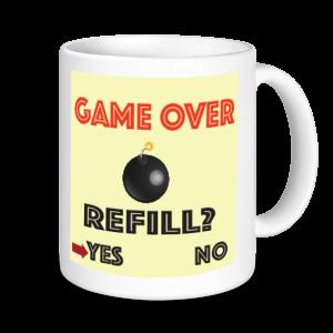 Gaming Mugs - Game Over
