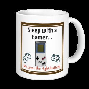 Gaming Mugs - Sleep With A Gamer