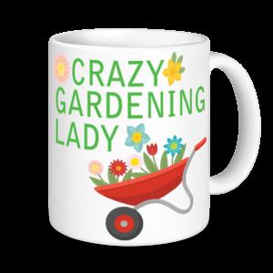 Gardening Mugs - Crazy Gardening Lady