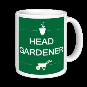 Gardening Mugs - Head Gardener