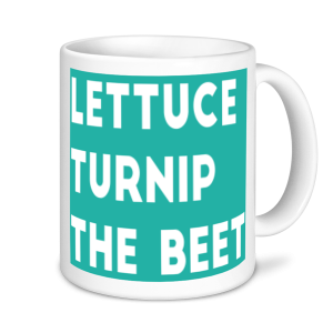 Gardening Mugs - Lettuce, Turnip, The Beet