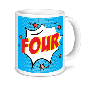 Golf Mugs - Four