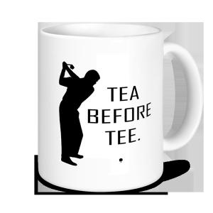 Golf Mugs - Tea Before Tee