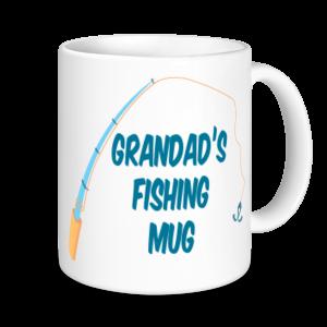 Grandad Mugs - Grandad's Fishing Mug