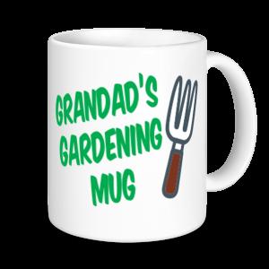 Grandad Mugs - Grandad's Gardening Mug