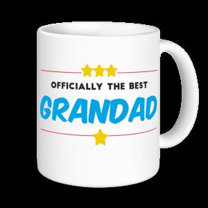 Grandad Mugs - Officially the Best Grandad