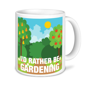 Gardening Mugs - I'd Rather be Gardening