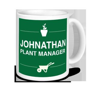 Gardening Mugs - Plant Manager