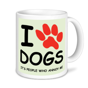 Dog Mugs - I Love Dogs...