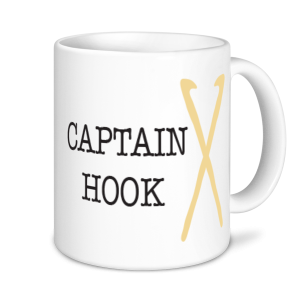 Knitting Mugs - Captain Hook