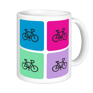 Cycling Mugs - Cycling Mosaic