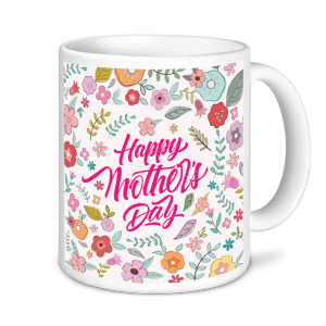Mother's Day Mug - Floral
