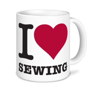 Sewing Mugs - I Love Sewing