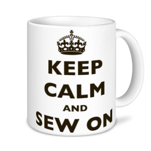 Sewing Mugs - keep Calm and Sew On