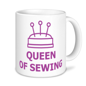 Sewing Mugs - Queen of Sewing