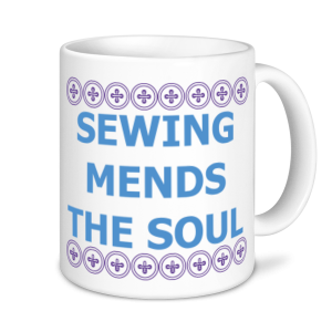 Sewing Mugs - Sewing Mends The Soul