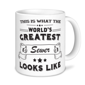 Sewer Mugs - World's Greatest Sewer