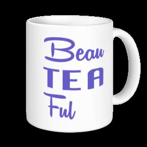 Tea Mugs - BeauTEAful