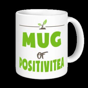 Tea Mugs - Mug Of PositiviTEA